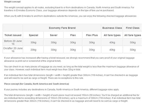 emirates overweight baggage fee do you know your 2017 airline baggage allowance find out