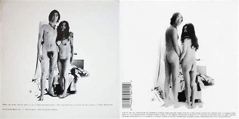 Lennon John Yoko Ono Unfinished Music No 1 Two Virgins | de madonna a lady gaga 5 pol 233 micas musicales ins 243 litas