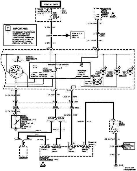 98 ls1 alternator exciter wire ls1tech camaro and firebird