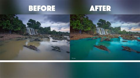 how to color water how to change the color water photoshop tutorial