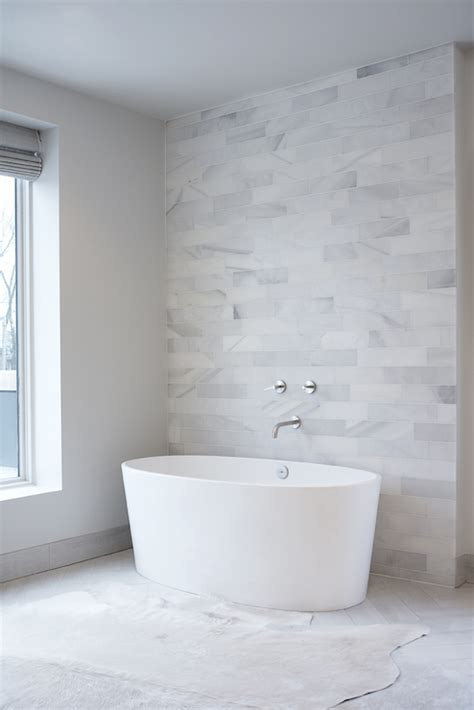 white marble tiles bathroom leo designs chicago bathrooms marble clad wall marble