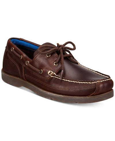 timberland boat shoes on feet timberland men s piper cove leather boat shoes all men s