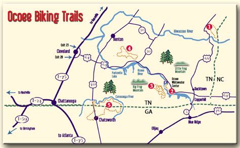 ocoee river map bfe book your adventure today