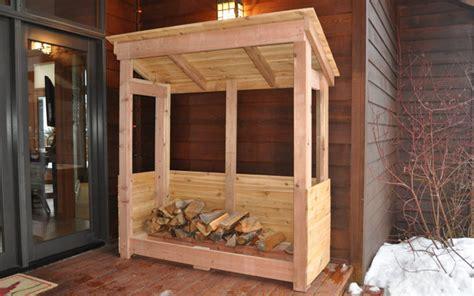 build  firewood rack