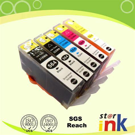 Tinta Hp 564 Color cartucho de tinta compatible para hp 564 364 178 la viruta cartucho de tinta compatible