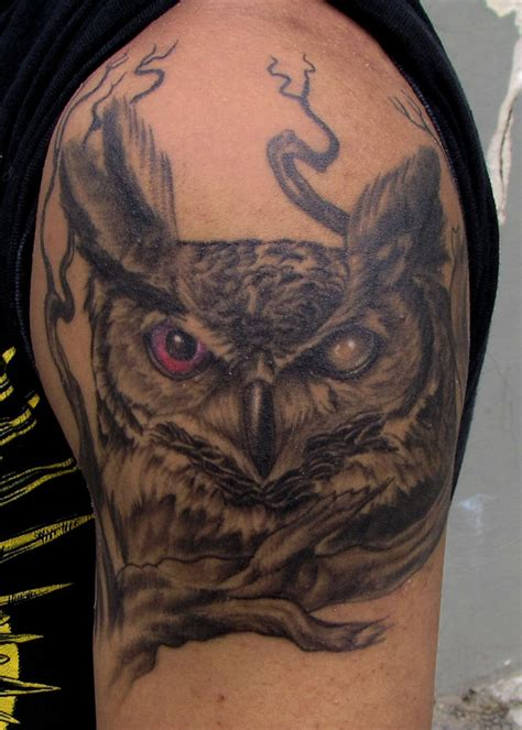 40 beautiful owl tattoo design entertainmentmesh