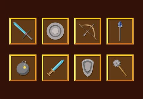 vector mod game download rpg game weapons vector download free vector art stock