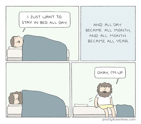 stay in bed poorly drawn lines stay in bed