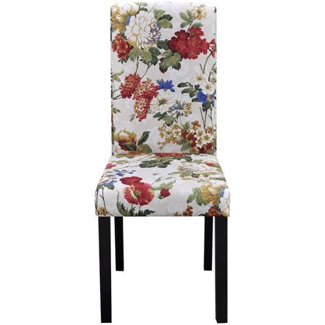tavola con sedie vidaxl set 6 sedie da tavola in legno con design floreale