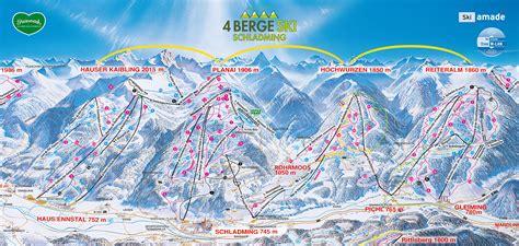 ski hauser kaibling bergfex pistenplan hauser kaibling schladming ski