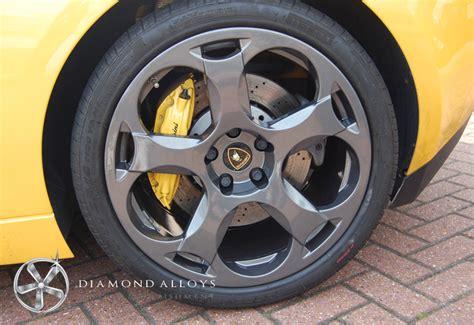 Lamborghini Alloy Wheels Lamborghini Alloys Get A Stunning Wheel Refurbishment