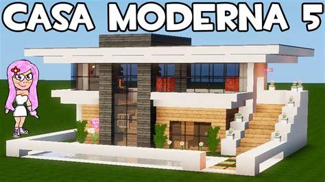 Small House Minecraft by Casa Moderna 5 En Minecraft C 211 Mo Hacer Construir Y