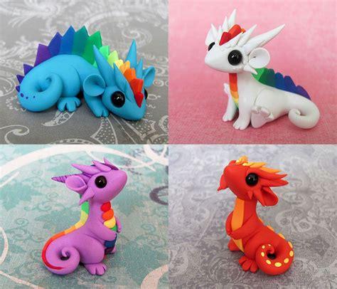 colorful clay colorful scrap dragons by dragonsandbeasties deviantart