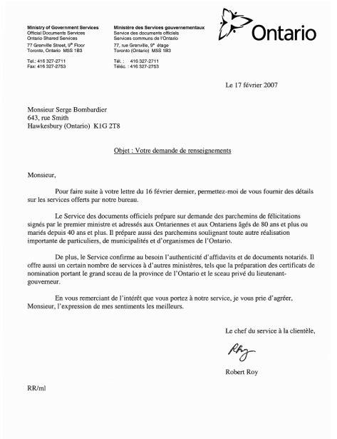 Lettre Presentation De Service 10 Mod 232 Le De Note De Service Modele De Lettre