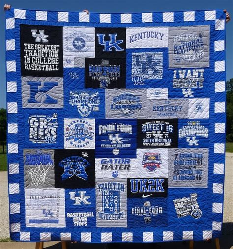 six details that make a t shirt quilt look extraordinary