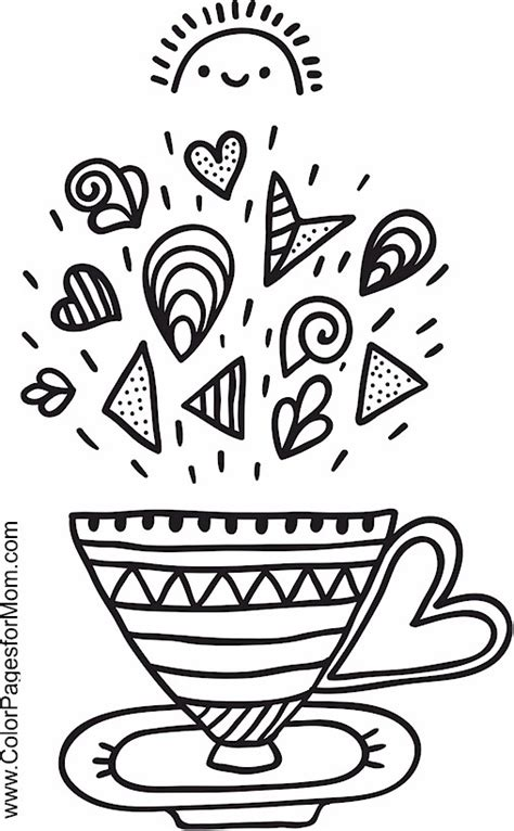 coloring pages for adults coffee advanced coloring pages coffee coloring page 10