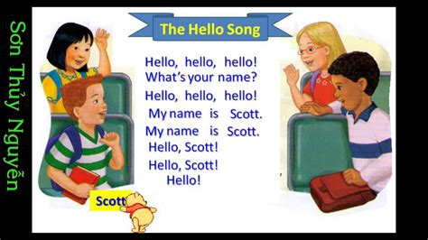 greeting song hello song unit 1 let s go 1a