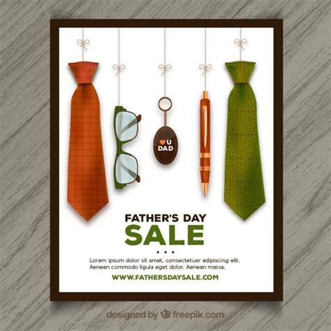 fathers day posters s day sale poster vector free