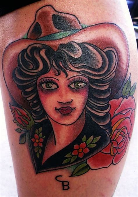 immaculate tattoo by mando immaculate cowboys and indians