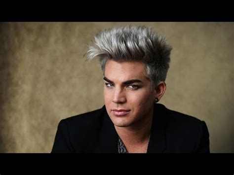 Adam Lambert Hairstyle by 2015 Adam Lambert Hairstyles