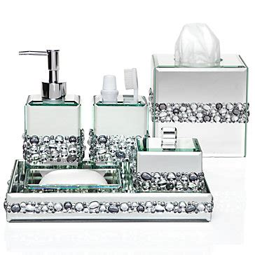 Stylish Home Decor Chic Furniture At Affordable Prices Mirrored Bathroom Accessories Sets