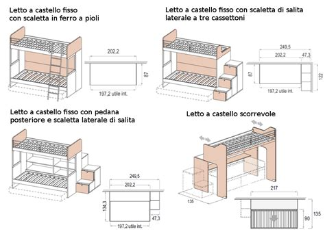 misure armadio standard le misure degli armadi dielle