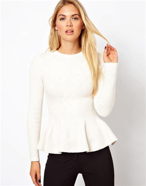 Top Brixtonbest Fashion49 ted baker sleeved peplum top fall shopping wishlist my style ted