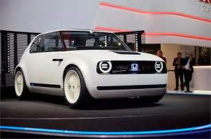 Electric Cars 2018 Europe Honda Unveils All Electric Ev Designed For Europe
