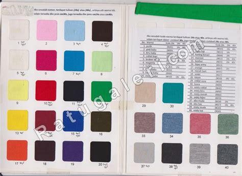 Kain Cotton Combed 30s Benhur Bahan Kaos kain kaos dan katalog warnakonveksi surabaya kaos seragam dan pabrik jaket memberikan