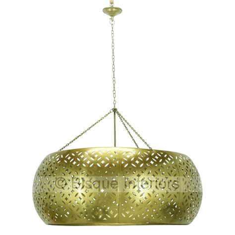 Big Pendant Light Large Carved Metal Pendant Light