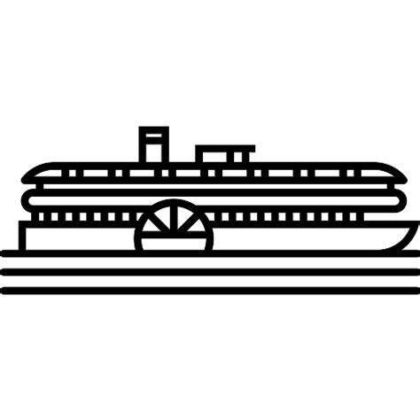 barco de vapor iconos gratis de transporte - El Barco De Vapor Descargar Gratis