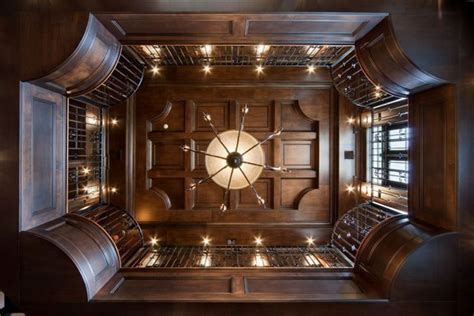 Paneled Ceiling by Luxury House Interiors In European And Traditional