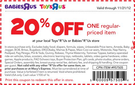 20 off babies r us printable coupon 2013 toys r us coupon code 20 off 2017 2018 best cars reviews