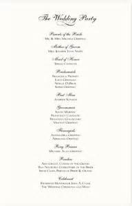 sle of wedding reception program best photos of wedding reception program template wedding reception program sle templates