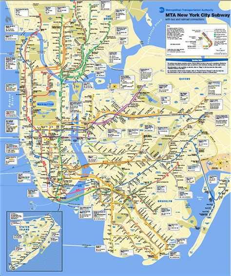 mta maps mta subway map outravelling maps guide