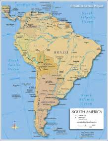 map of south america cities south america other maps