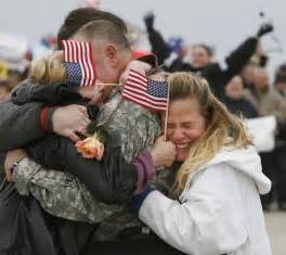 soldiers coming home support the hug home source mike