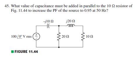 power factor correction rlc circuit ac power factor correction in a simple phasor circuit electrical engineering stack exchange