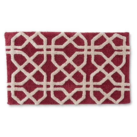 Geometric Bath Rug Cannon Tufted Bath Rug Geometric Shop Your Way Shopping Earn Points On Tools