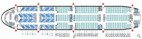 777 300er air canada seat map air canada seat mapfirstbusinessflights best fares