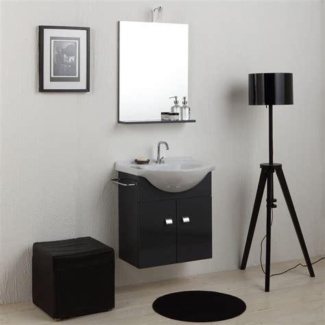 arredo bagno economico mobile bagno economico da 58 cm con lavabo specchio e luce