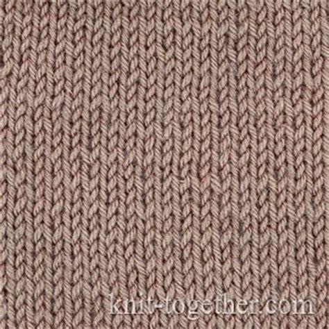 jersey stitch pattern knit together stockinette stitch plain knit jersey