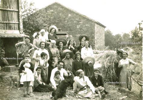 imagenes en antiguas fotos antiguas a 241 o 1960 de codeseda galicia