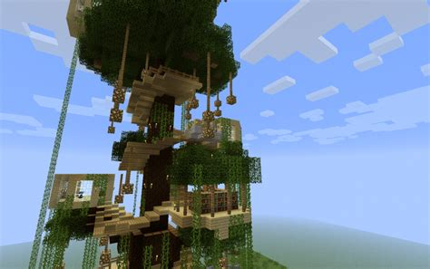 minecraft tree house minecraft tree houses minecraft pe tree houses liquidbeef s treehouse vanilla ing gt