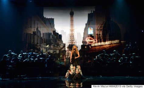 celine dion paris tribute celine dion s amas paris tribute brings audience to tears