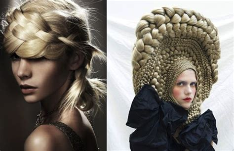 cool avant garde short blonde hairstyles cool braids for school google search hair we are