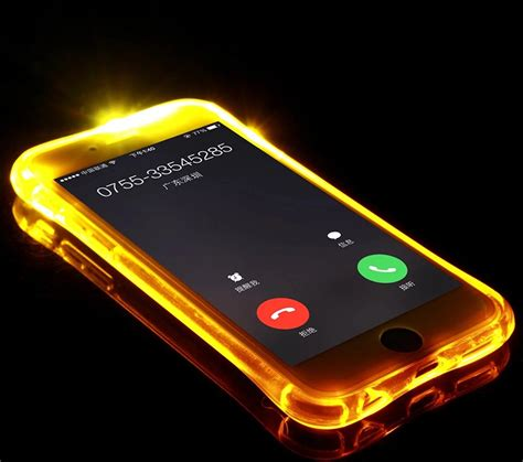 Led Samsung J1 new soft tpu led flash light up remind incoming call