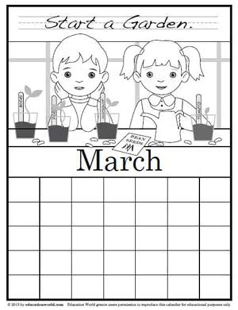 march coloring pages pdf coloring calendar march version 2 education world