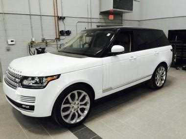 used range rover for sale used 2015 land rover range rover mpv for sale at auctionexport