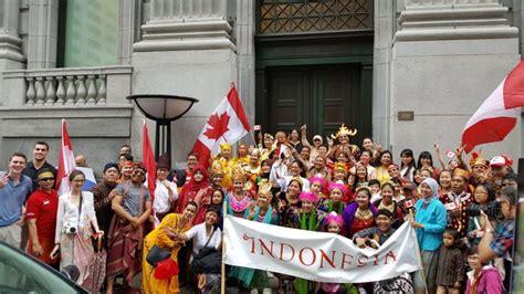 Masyarakat Indonesia masyarakat indonesia meriahkan hari kemerdekaan kanada ke